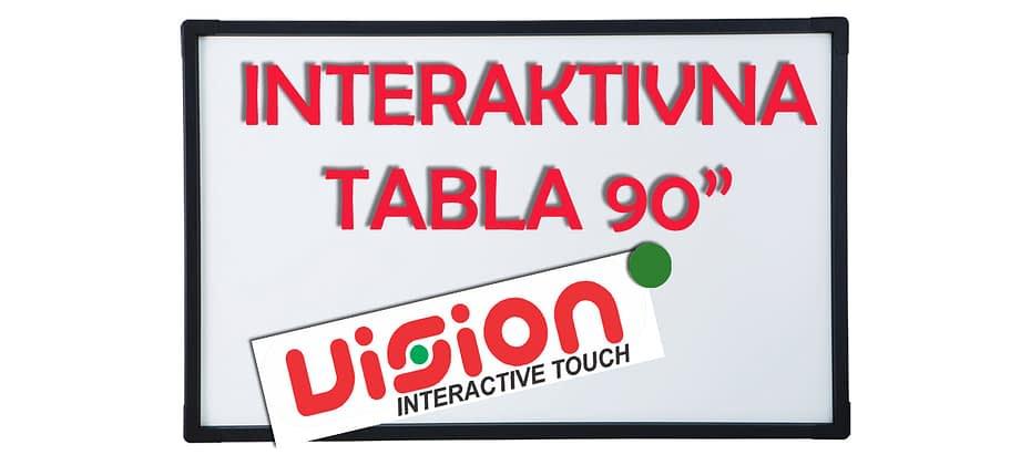 Interaktivna Tabla Vision